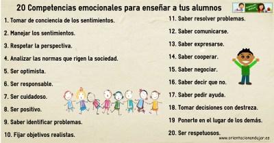 20 competencias alumnosemocionales