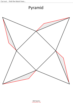 piramide para recortar