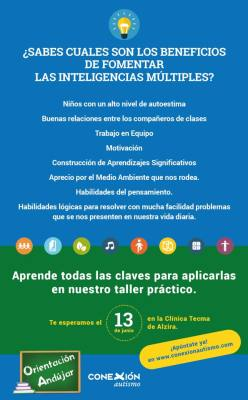 curso de inteligencias multiples alzira