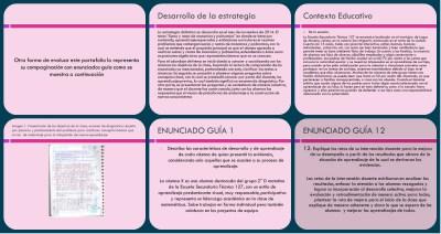 Ejemplo de portafolio de evidencias con enunciados guías Portada