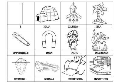 El abecedario de los objetos listo para imprimir (11)