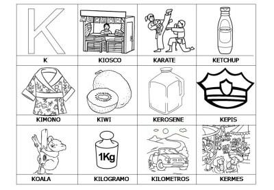 El abecedario de los objetos listo para imprimir (13)