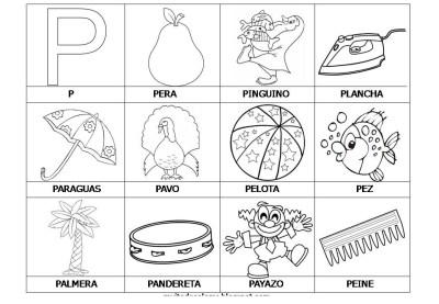 El abecedario de los objetos listo para imprimir (19)