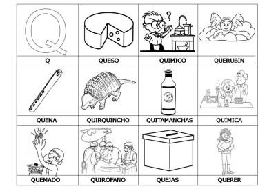 El abecedario de los objetos listo para imprimir (20)