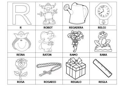 El abecedario de los objetos listo para imprimir (21)