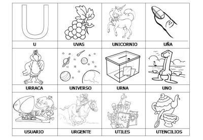 El abecedario de los objetos listo para imprimir (24)