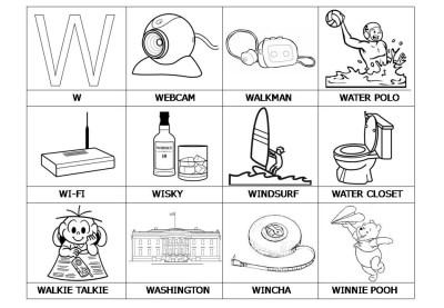El abecedario de los objetos listo para imprimir (26)
