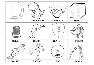 El abecedario de los objetos listo para imprimir (6)