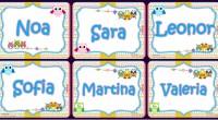 Tarjetas imprimibles Nombres de Niñas Motivo Búhos + Plantilla . . .