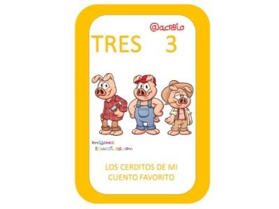 Aprendemos los números del 1 al 10 en español de forma divertida Video, láminas, Bits10