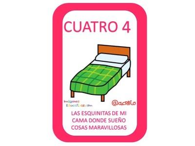 Aprendemos los números del 1 al 10 en español de forma divertida Video, láminas, Bits13