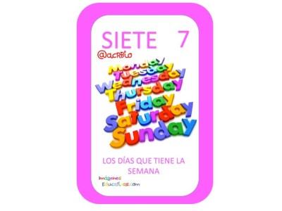 Aprendemos los números del 1 al 10 en español de forma divertida Video, láminas, Bits22