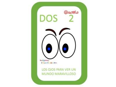 Aprendemos los números del 1 al 10 en español de forma divertida Video, láminas, Bits7