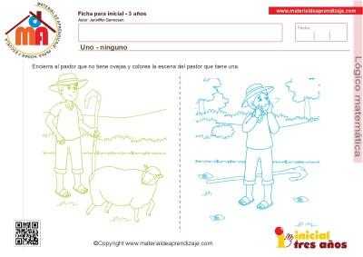Colección de ficha para trabajar razonamiento Lógico matemático educación Infantil17