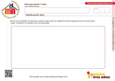Colección de ficha para trabajar razonamiento Lógico matemático educación Infantil23