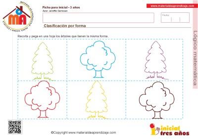 Colección de ficha para trabajar razonamiento Lógico matemático educación Infantil27