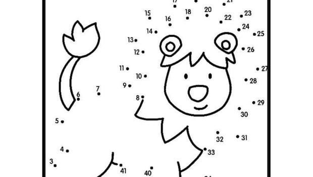 Numeros Para Colorear En Linea Fichas Para Unir Puntos Y: Motricidad Y Números Del 1 Al 50 Super Colección Vamos A