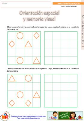 01 Intermedio 1 orientaci¢n espacial y memoria visual