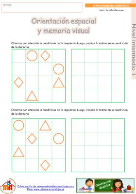 04 Intermedio 1 orientaci¢n espacial y memoria visual