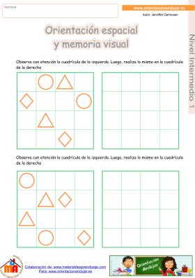 12 Intermedio 1 orientaci¢n espacial y memoria visual
