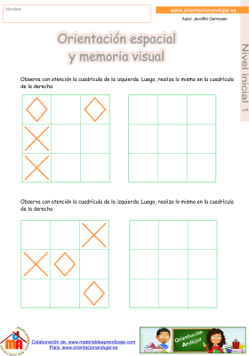 12 inicial 1 orientaci¢n espacial y memoria visual