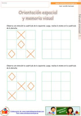 13 inicial 1 orientaci¢n espacial y memoria visual