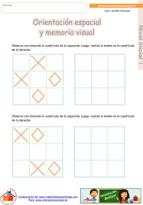 16 inicial 1 orientaci¢n espacial y memoria visual