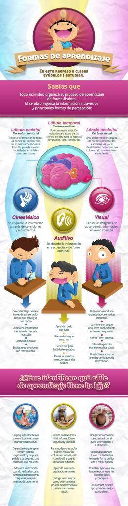 formas de aprendizaje de nuestros hijos e hijas