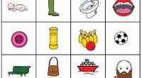 Son dibujos de palabras de los distintos fonemas; se pueden ampliar para jugar con toda la clase al bingo y al memory. También se puede trabajar la semántica (definir la […]
