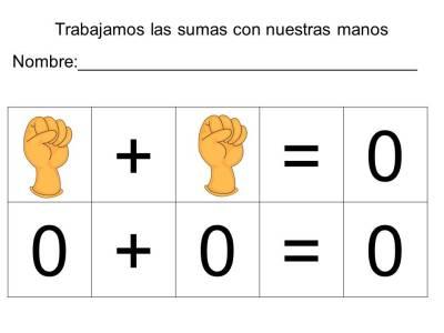 vamos a sumar con los dedos (3)