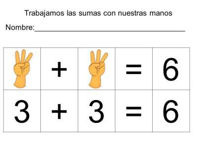 vamos a sumar con los dedos (6)