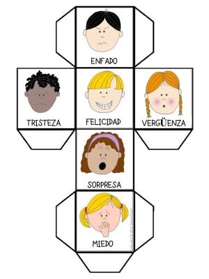 Educación para las Emociones jugamos con el DADO DE LAS EMOCIONES ...