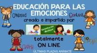Si te apetece trabajar en tus clase con tus alumnos y alumnas y en casa con tus hijos e hijas las emociones, te proponemos nuestro nuevo curso ON-LINE sobre educación […]