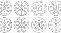 Os compartimos estos geniales mandalas para trabajar los números, la atención y la creatividad. Los mandalas cada día se hacen más conocidos y llaman la atención de personas de todas […]