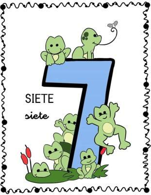 Nos parendemos los numeros láminas (6)