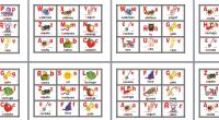 Compartimos este excelente material, esta lotería de abecedario para primer y segundo grado de primaria, que hemos encontrado por la red ideal para aprender las letras mediante este divertido bingo. […]