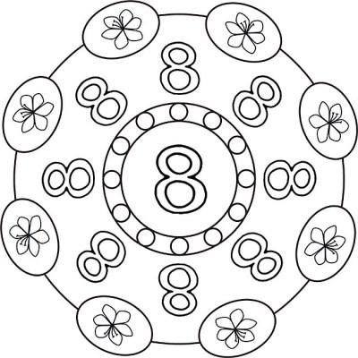 mandala-zahlen-acht