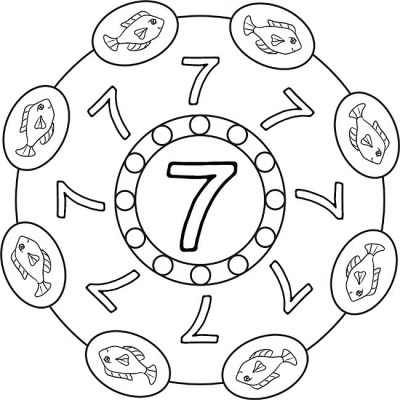 mandala-zahlen-sieben