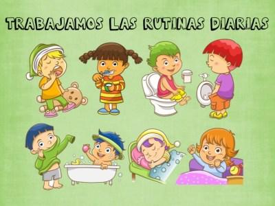 rutinas para niños y niñas1