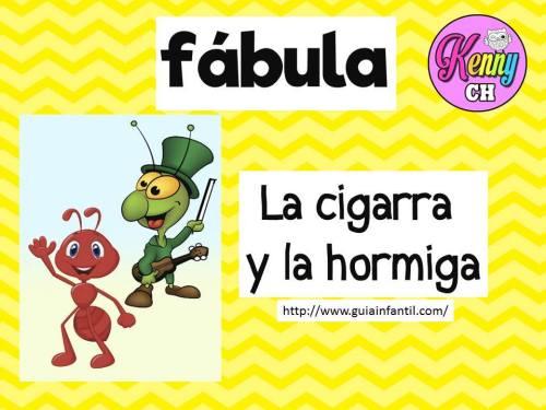 LAS FABULAS 4 LA CIGARRA Y LA HORMIGA