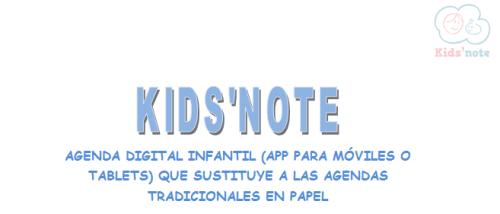 AGENDA DIGITAL INFANTIL KidsNote