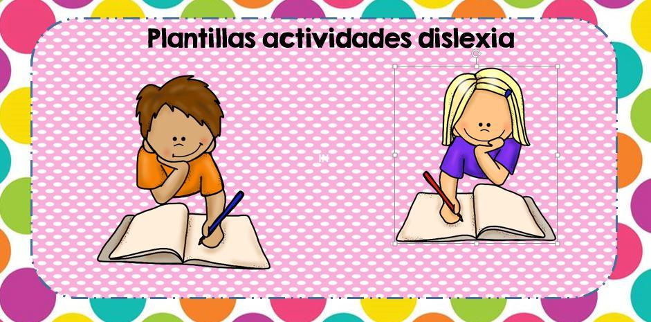 plantillas dislexia