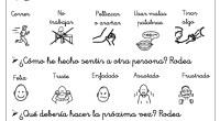 HOJA PARA PENSAR:esta hoja se puede utilizar para la resolución de conflictos y para que los niños reflexionen sobre sus actos y cómo éstos pueden afectar a otras personas. Hoy […]