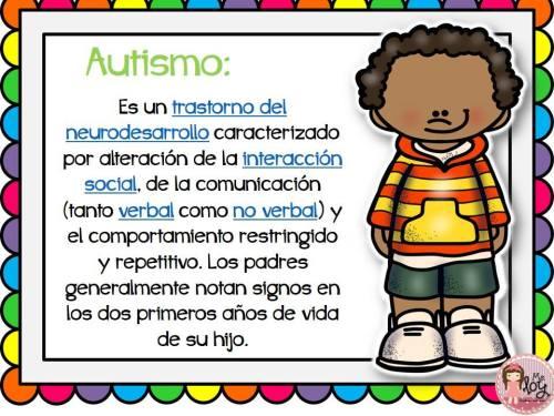 Láminas con definiciones de los distintos trastornos y síndromes  (9)