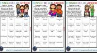 Un excelente recursoqué podemos llevar a cabo los primeros días de clase es el Bingo de los amigos, esta actividad consiste en repartir diferentes cartones de bingo a los alumnos […]