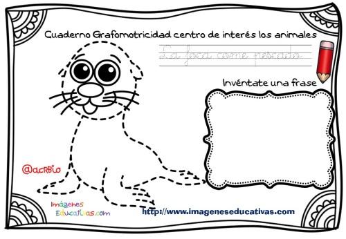 Cuaderno Grafomotricidad centro de interés los animales  (6)
