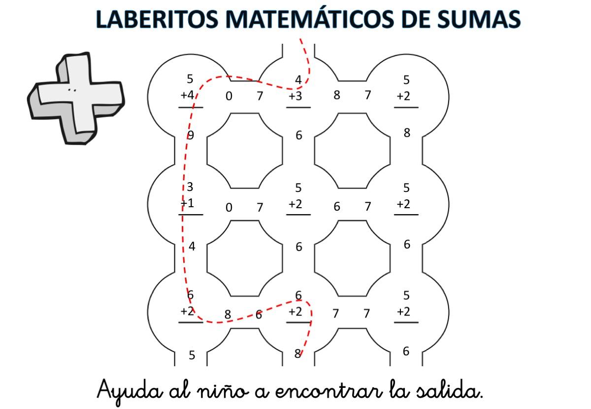 laberintos-de-sumas-nivel-inicial-hasta-el-10-con-soluciones2