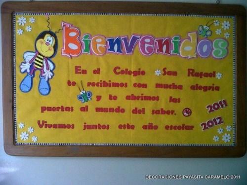 cartelera bienvenida 2011-2012