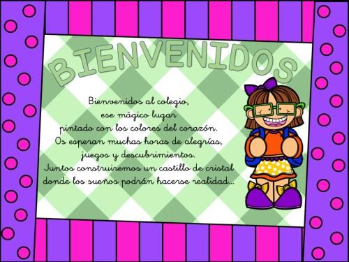 carteles de bienvenida infantil y primaria4