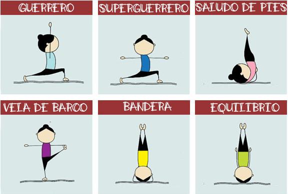 Super Lámina Posturas Yoga Para Niños Yoga En El Colegio Para Tu Aula Psicomotriz Orientacion Andujar